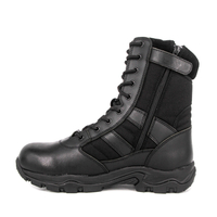 Men's waterproof zipper tactical boots 4206