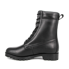 Malaysia rubber sole leather military tactical boots 6293