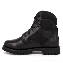 Ankle rubber sole waterproof military tactical boots 4114