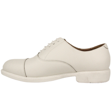Fashionable white shiny quality work office shoes 1219