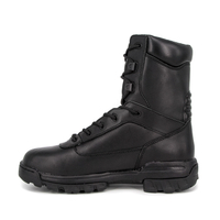 Pakistan cheap wholesale motorcycle military full leather boots 6244