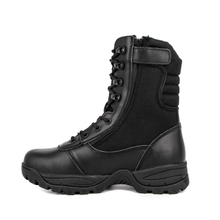 Comfortable motorcycle black military tactical boots 4201