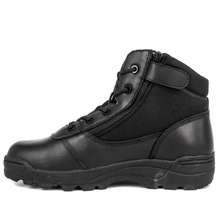 Black combat army military tactical boots 4101