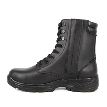 High quality winter army men full leather boots 6286