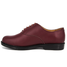 Red brown men formal leather office shoe for sale 1244
