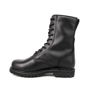 Black men hunting Malaysia ritual military full leather boots 6270