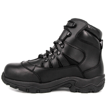 Black youth ankle military tactical boots 4104