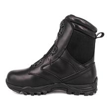 Men black uniform BOA system military tactical boots 4288
