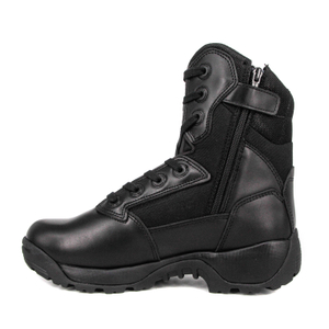 Cheap military tactical boots with zipper 4296